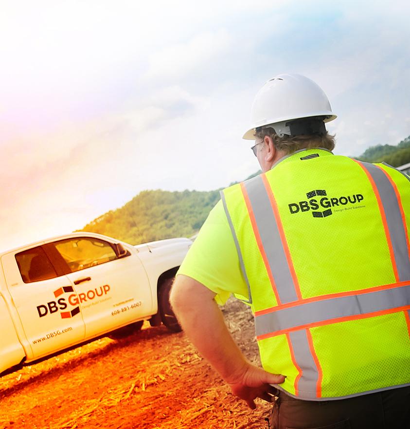 DBSG worker looking on